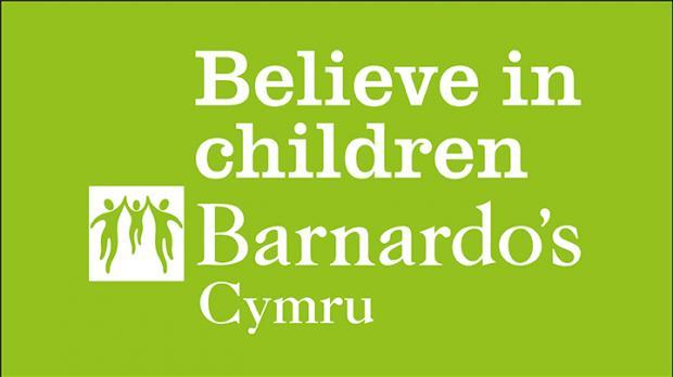 Barnardos Cymru logo