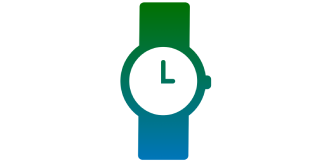 Icon of a watch