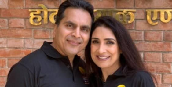 Anita and Avnish Goyal, philanthropists