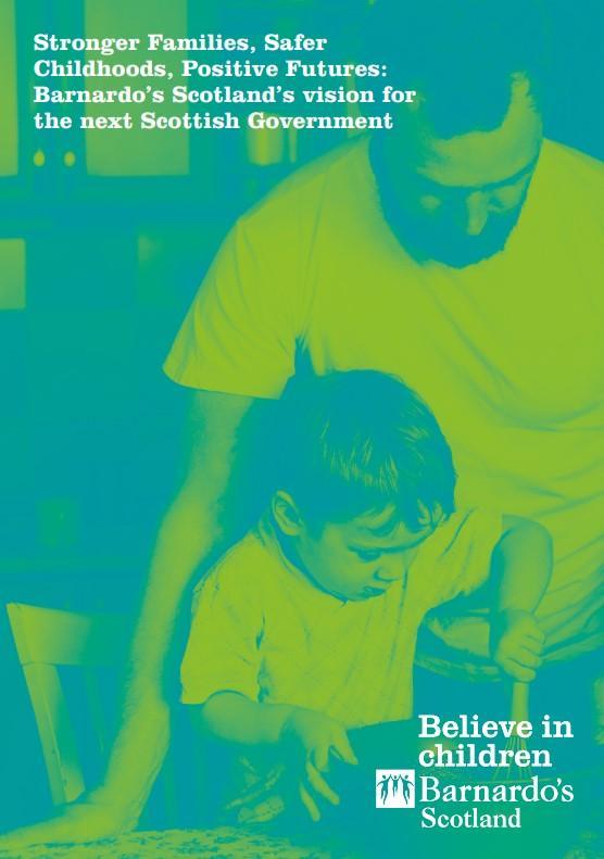 Barnardo's Scotland Manifesto front cover