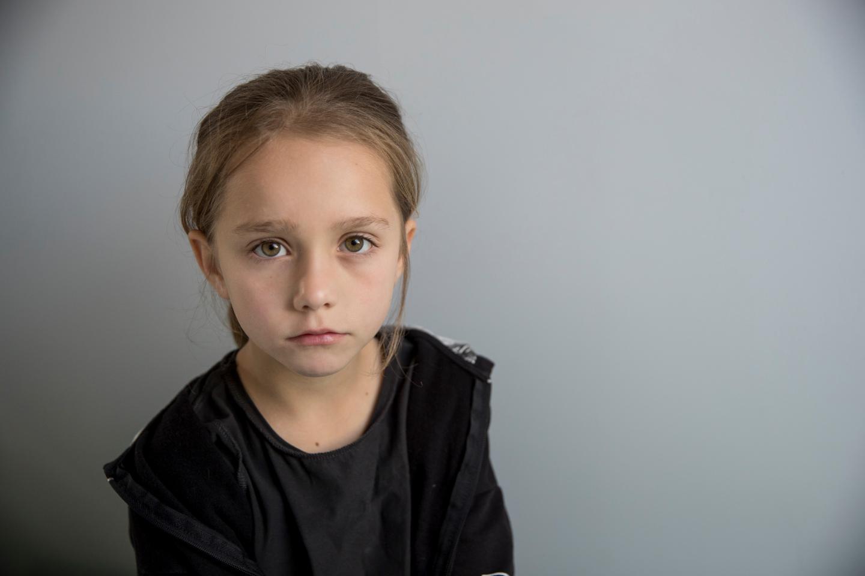 Young girl - coronavirus appeal