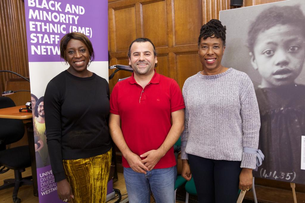 Westminster University staff in the historic Fyvie Hall,University of Westminster, Regent Street,said that the event brought Barnardo's 'to life'.