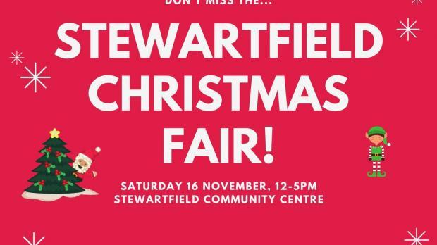 Poster for Stewartfield Christmas Fair