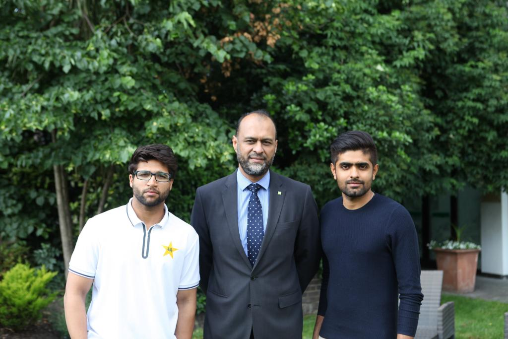 Barnardo's CEO meets Pakistan Cricket team