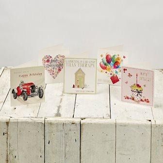 Selection of greeting card
