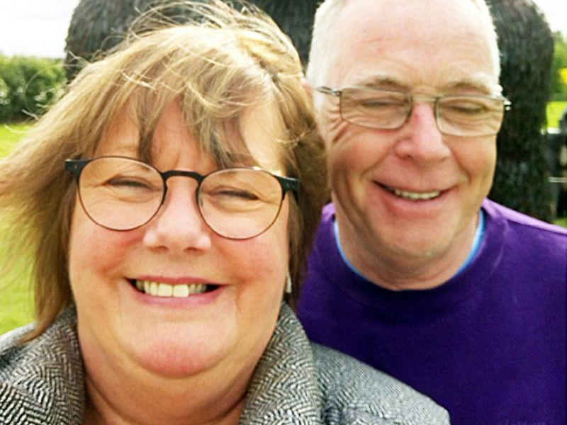 Cathie and Tony, foster carers