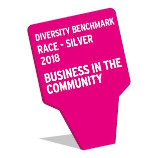 Diversity Benchmark 2018 Race Silver