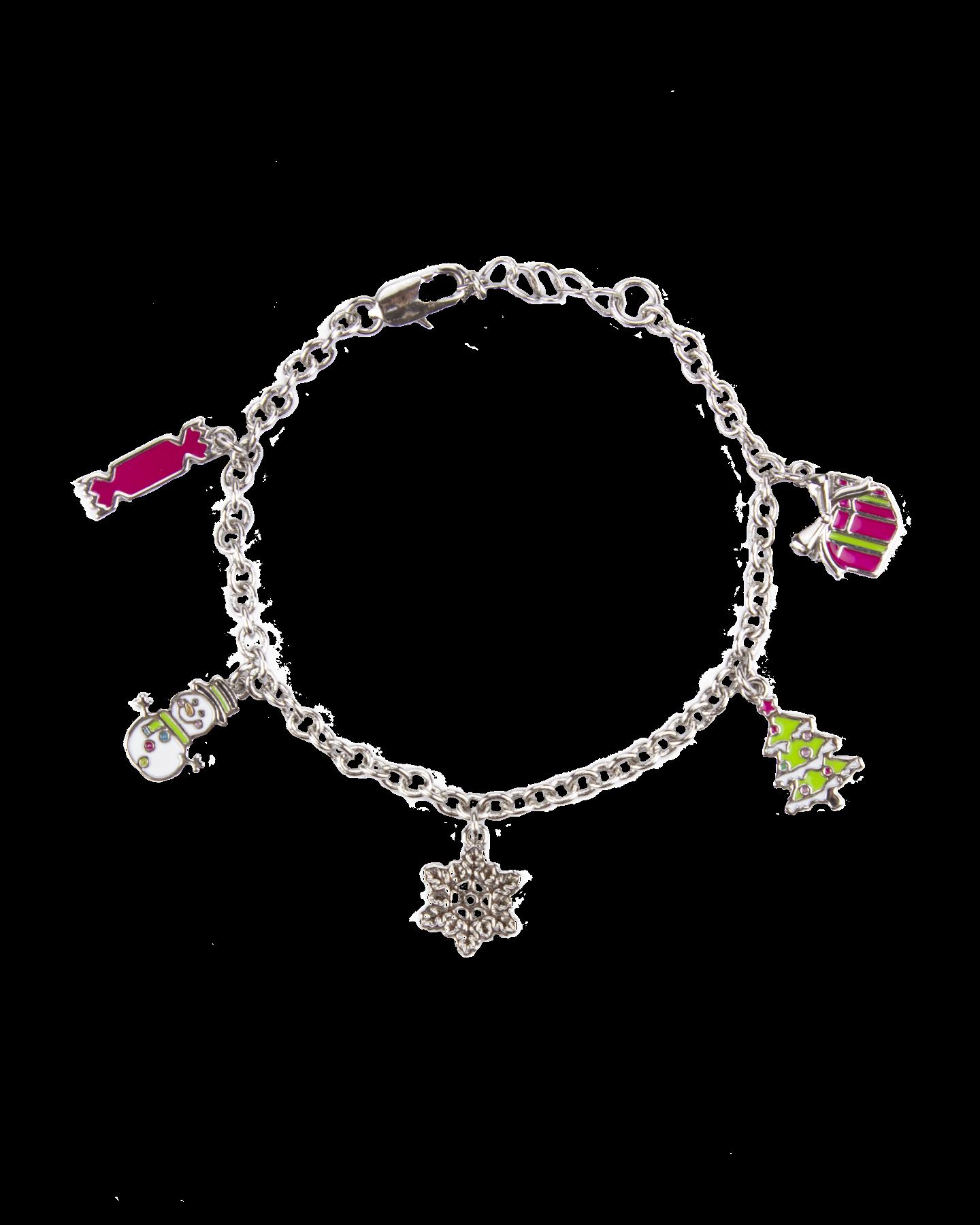 Gecko Kidsmas charm bracelet