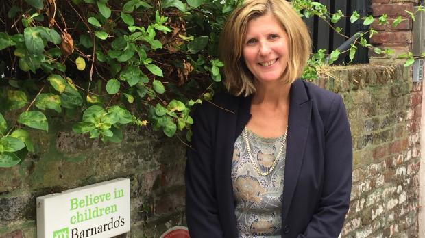 Barnardo's London Director Lynn Gradwell