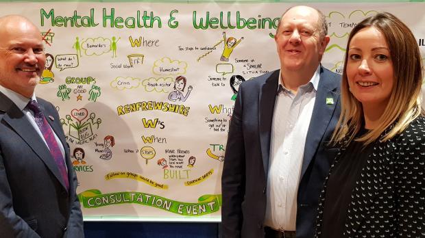 MHWB strategic Partnership John Trainer Martin Crewe Sam King
