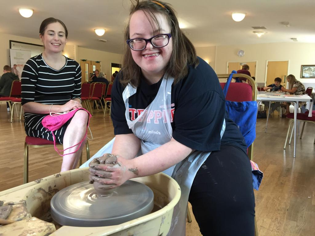 Margaret Heler, 20, pictured at an ACT celebration event