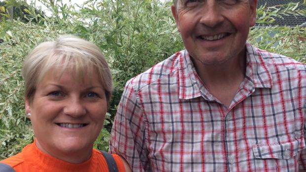 Sandra and Simon, foster carers