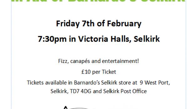Poster for Barnardo's Scotland Selkirk Grand Fashion Show