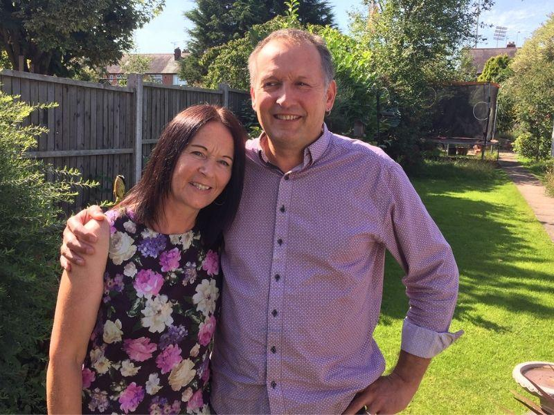 Sharon and Tim, foster carers