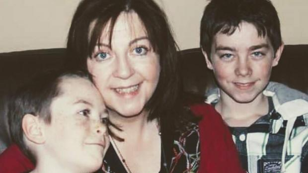 Shauna and her sons