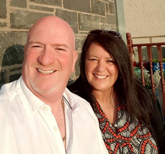 Foster carers Steve and Julie