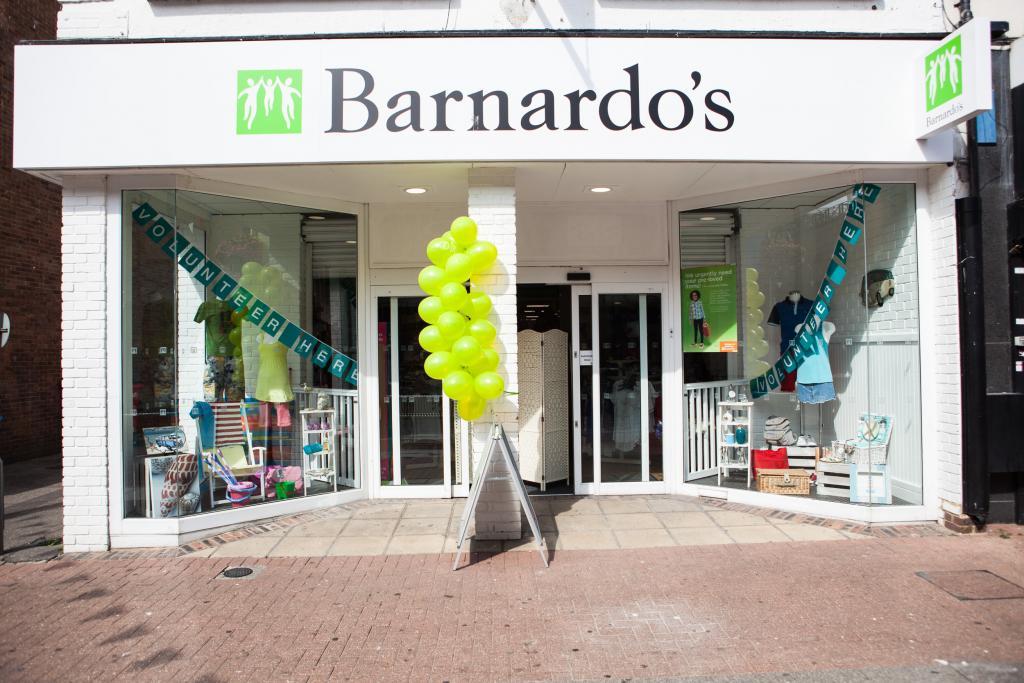 A Barnardo's storefront