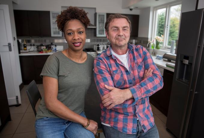 Ann and Brian, foster carers with Barnardo's