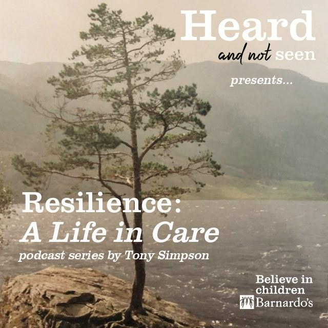 Logo for Resilience - A Life in Care podcast series